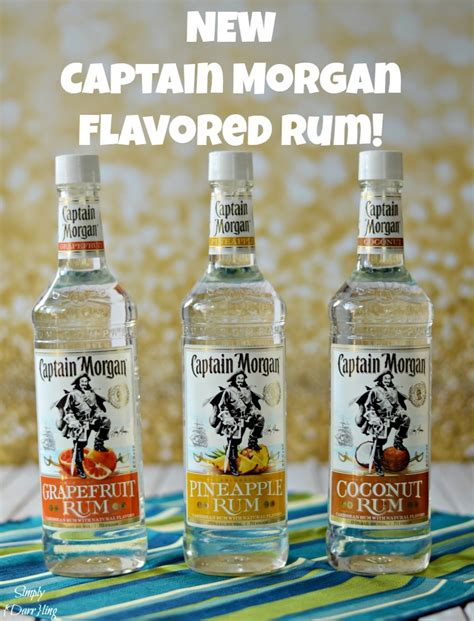 The New Captain Morgan Flavored Rums - Simply {Darr}ling