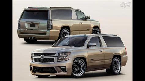 Chevy Tahoe SS Two-Door Rendered, Might Come Into Real World